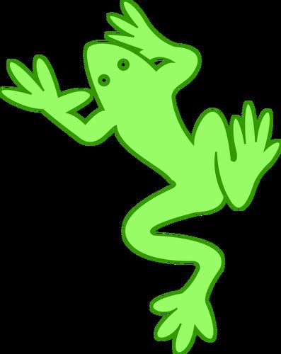 397x500 Frog Outline Vector Public Domain Vectors