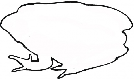 465x273 Tree Frog Outline Clipart Panda