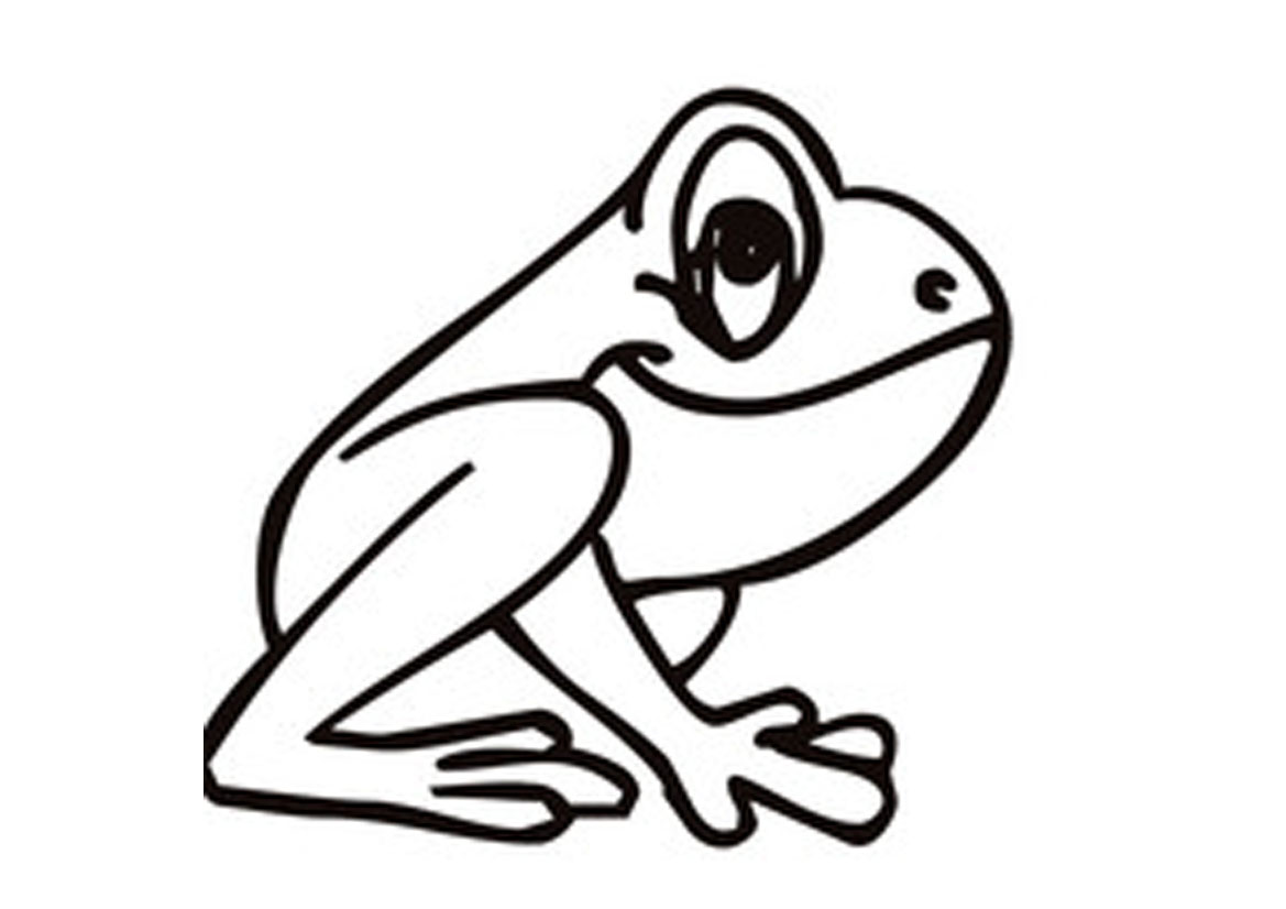 1169x826 Free Printable Frog Coloring Pages For Kids