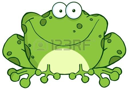 450x317 Cute Frog Cartoon Sitting Royalty Free Cliparts, Vectors,