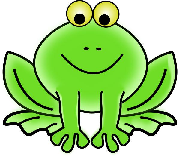 600x522 Frog Smiling