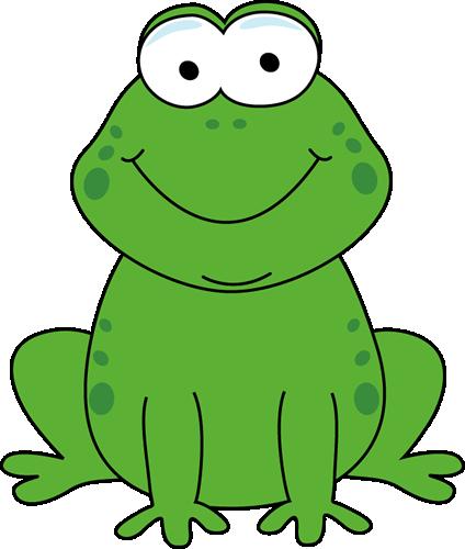 424x500 Cartoon Frog Clip Art