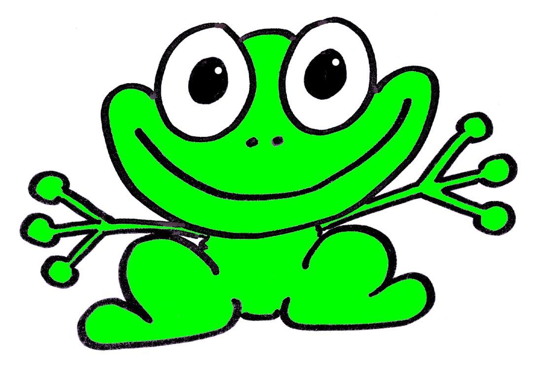 1083x750 Cartoon Clipart Frog