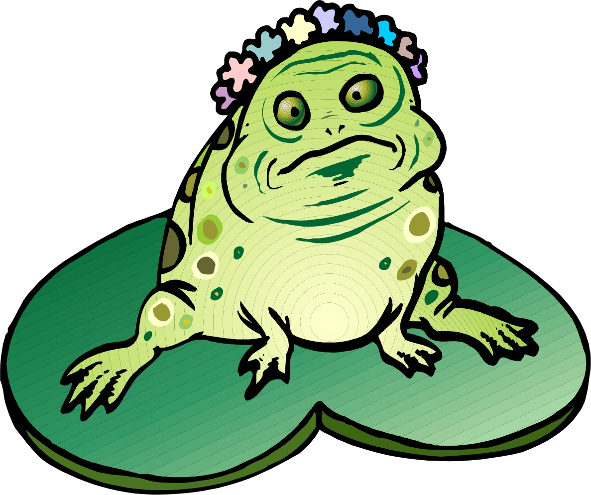 1187x994 Frog On Lily Pad Clip Art