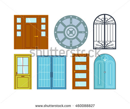 open front door illustration. Plain Door 450x377 Open Front Door Clipart With Illustration