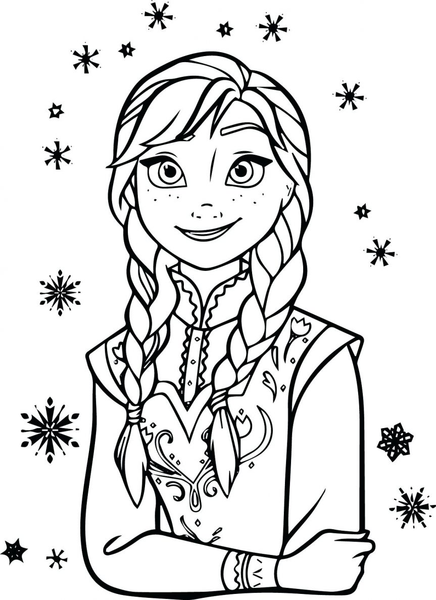 Frozen Coloring Pages | Free download on ClipArtMag