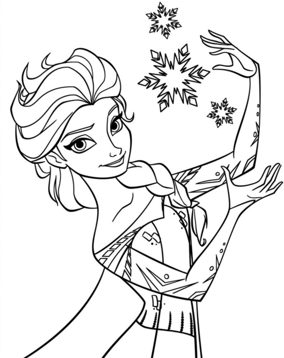Frozen Coloring Pages | Free download best Frozen Coloring Pages on ...