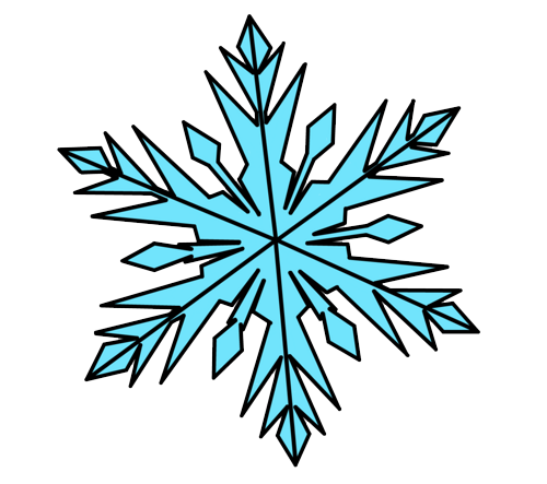 500x443 Frozen Snowflake Png Photos Png Mart
