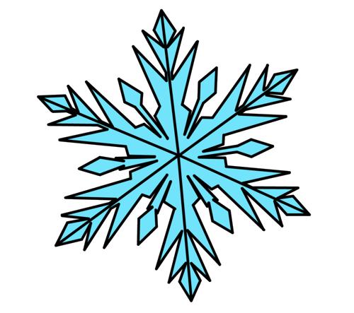 500x443 Frozen Snowflake Png Photos Png Mart