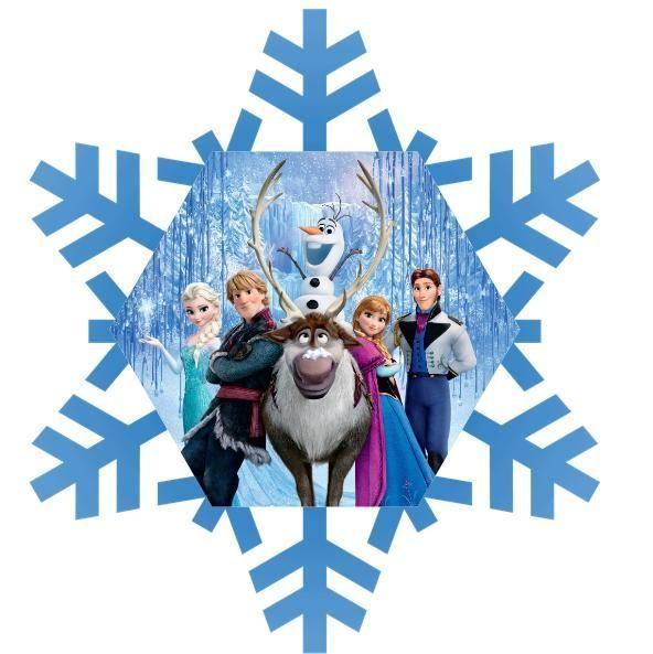 592x593 Disney Frozen Snowflake Clipart
