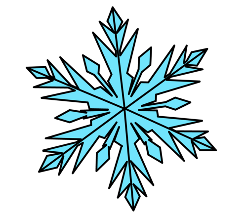 500x443 Graphics For Frozen Snowflake Graphics