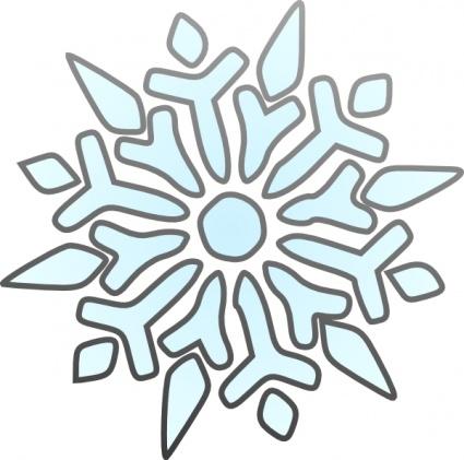 425x421 Happy Snowflakes Cliparts 219652