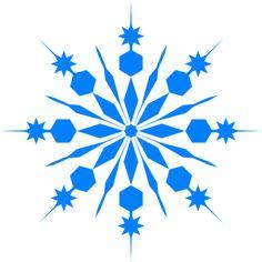 236x236 Snowflakes Light Blue Clip Art