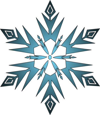 400x459 Snowflakes Png Images Transparent Free Download