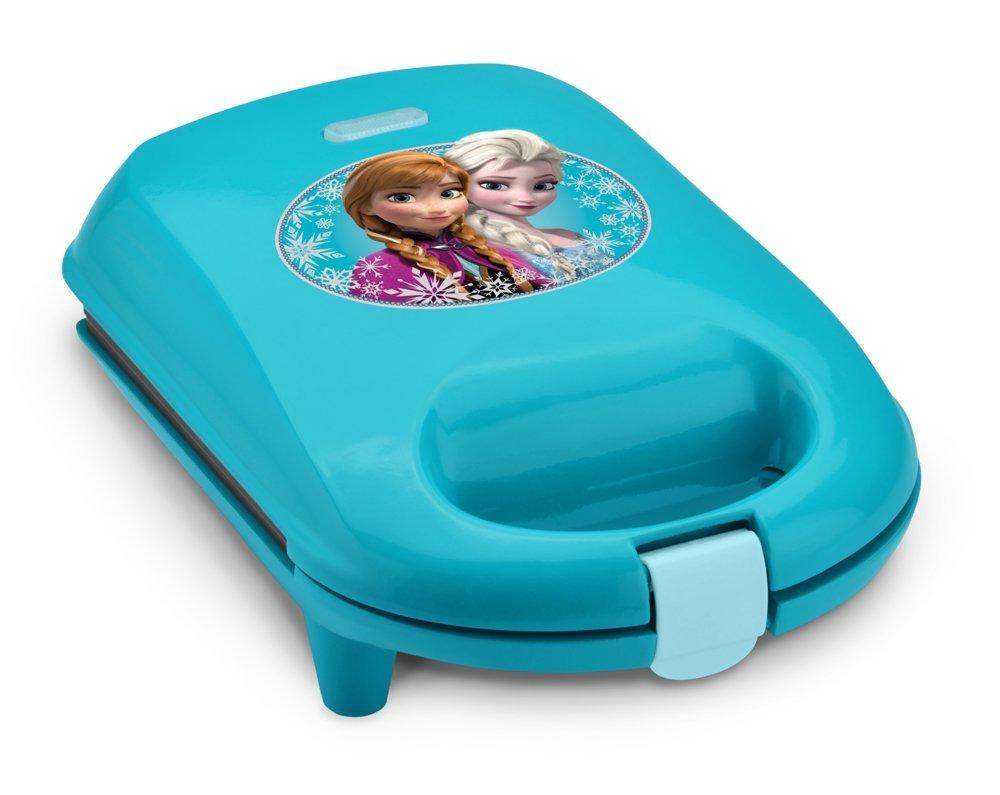 1000x795 Disney Dfr 5 Frozen Snowflake Waffle Maker, Blue