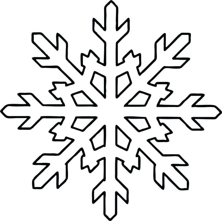 863x862 Free Printable Snowflake Patterns Frozen Easy Printable Frozen