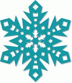 236x272 Frozen Snowflakes Clipart