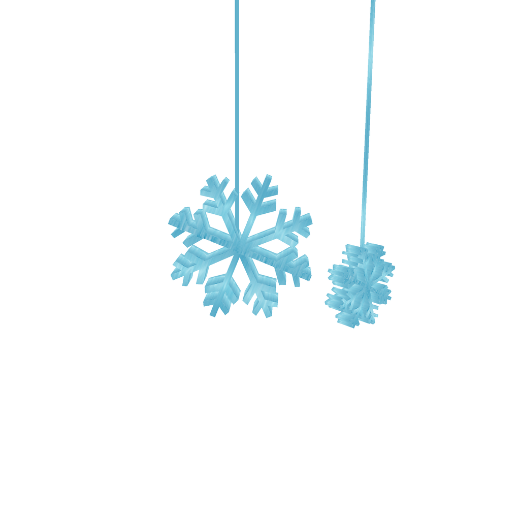 1024x1024 Frozen Yak Hanging Blue Snowflakes By Angelicleigh