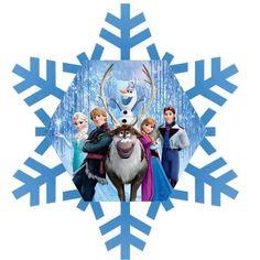 236x236 Happy Birthday Banner, Winter Wonderland Frozen Birthday Banner
