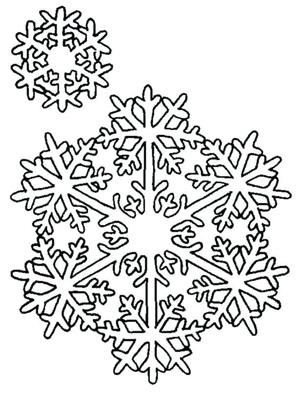618x809 Printable Snowflakes Snowflake Template Instructions Printable