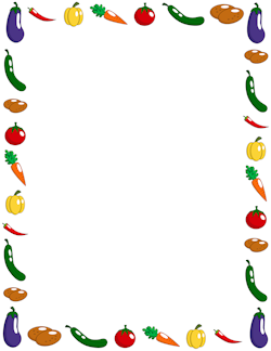 250x324 Fruit And Vegetable Border Clipart Panda