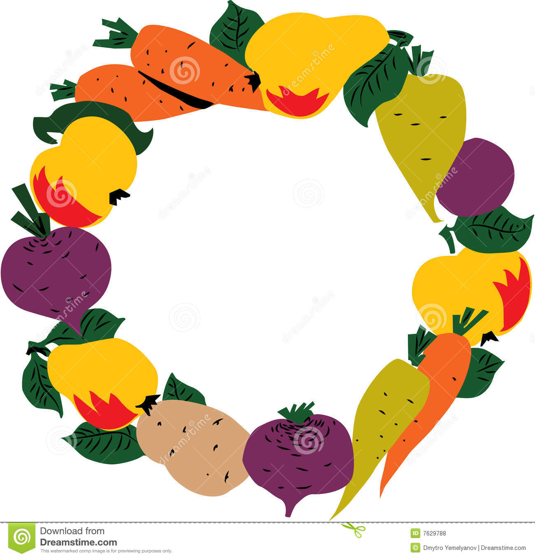 1300x1358 Vegetable Clipart Frame
