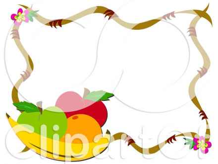 440x330 Fruit And Vegetable Clipart Black And White Clipart Panda Free