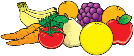 Fruit And Vegetable Clipart Free Download Best Fruit And Vegetable