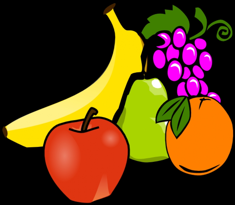 820x713 Clipart Of Vegetables And Fruit Fruit Vegetable Clip Art Free