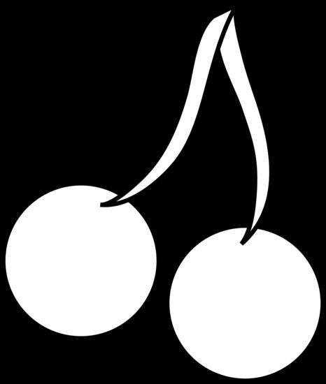 466x550 Fruit Outline Clip Art