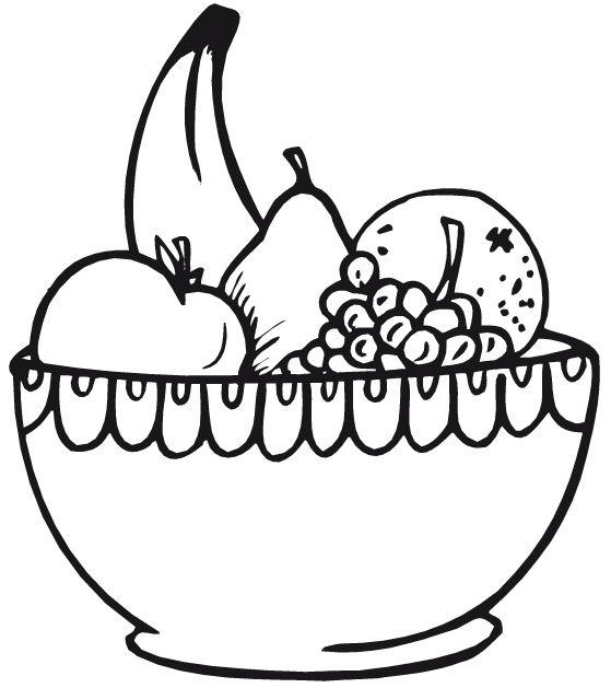 559x629 Vegetables Clipart Fruit Bowl