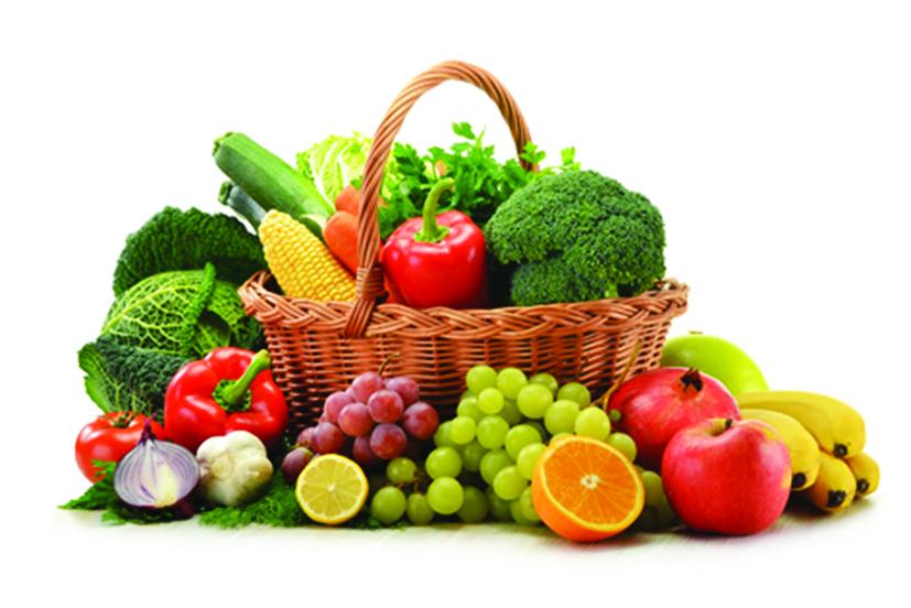 827x552 Fruit And Vegetables Basket Fruit Vegetables Basket Jpg Organic