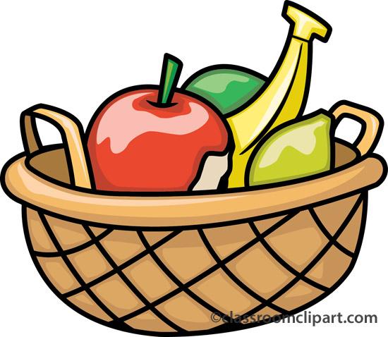550x478 Vegetables Clipart Fruit Basket