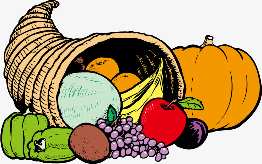 523x328 Vegetables, Fruit Baskets Vector, Basket, Vegetable And Fruit