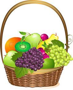 236x291 Basket Clipart Fruit And Veg