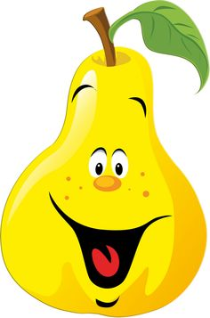 236x357 Funny Fruits And Vegetables Clipart