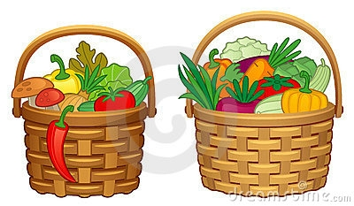 400x233 Basket Clipart Fruit And Veg