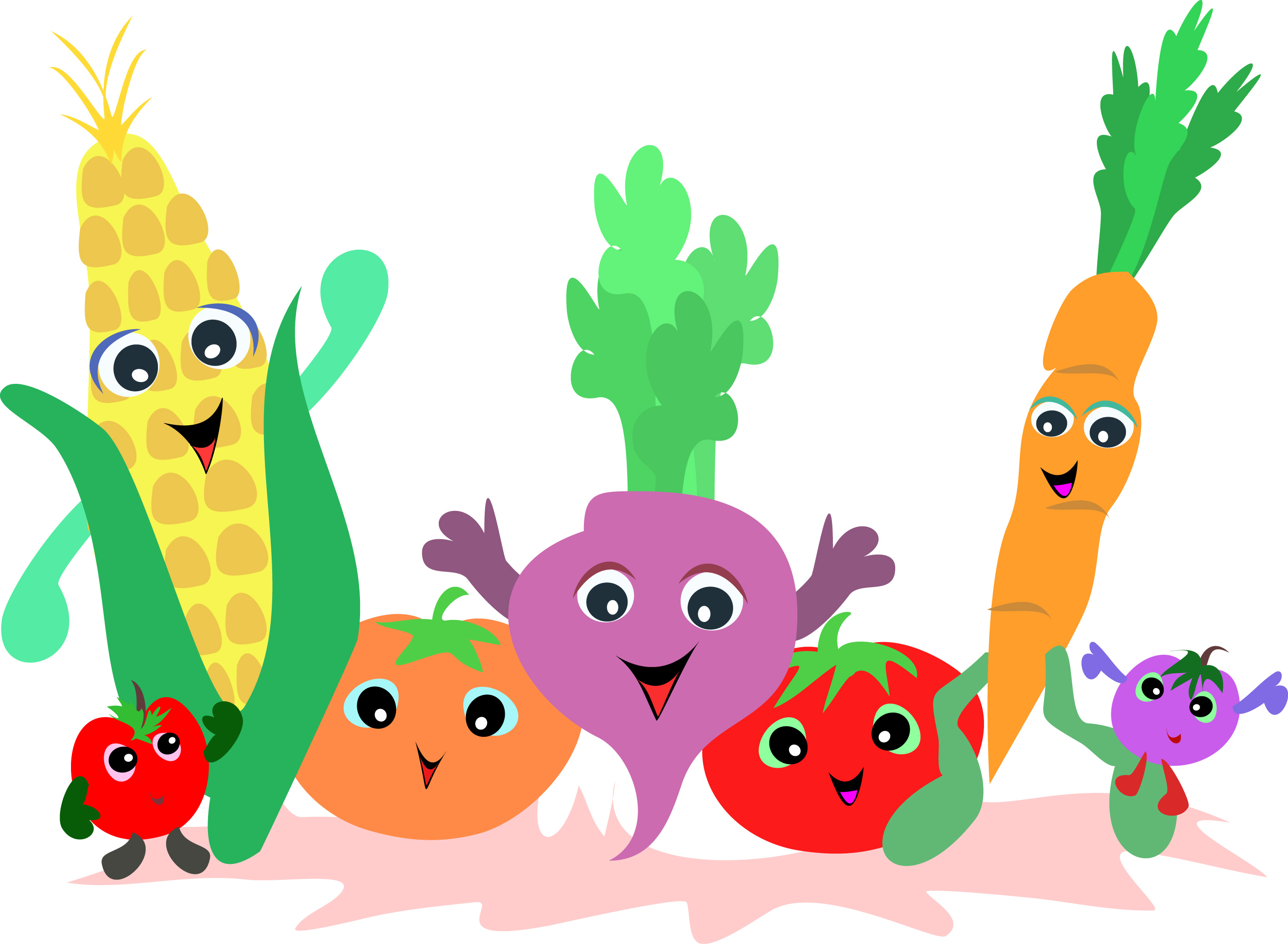 2830x2073 Basket Clipart Fruit Garden