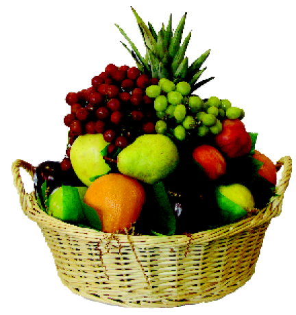 432x460 Seasonal Fruit Basket Large Carmine's Fresh, Gourmet, Italian