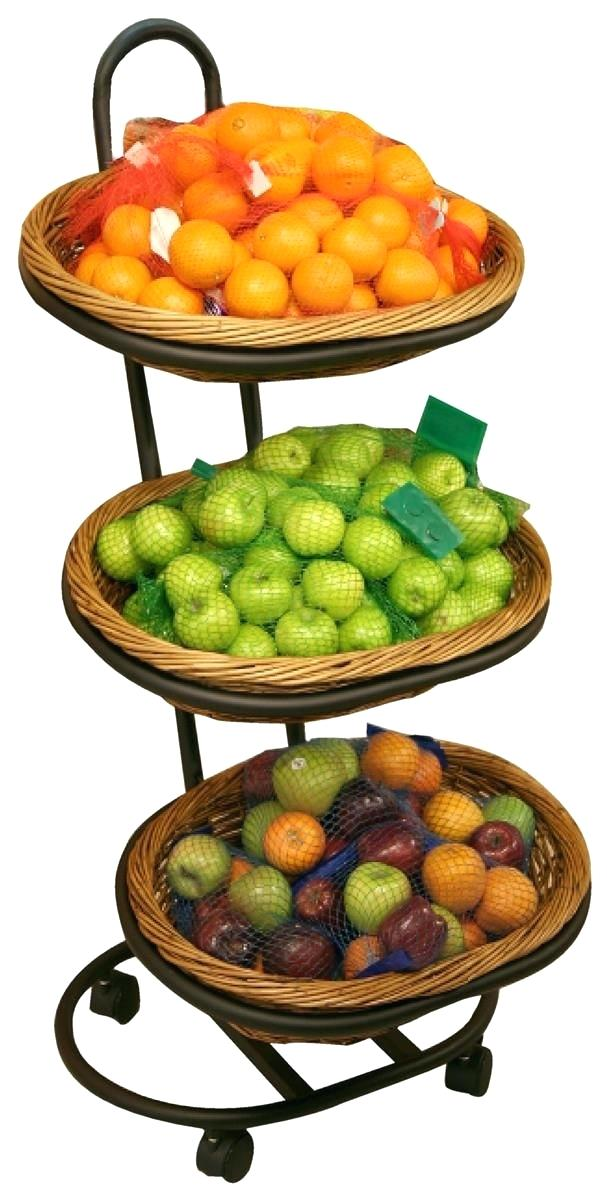 609x1200 Tiered Fruit Basket Stand Kitchen Red Hanging Fruit Basket Fruit