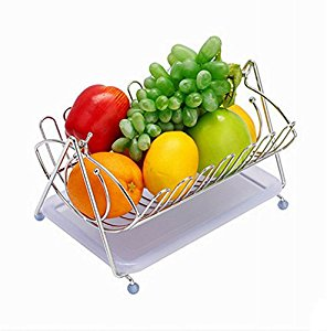 296x300 Fashion Home Basics Fruit Basket Stainless Steel