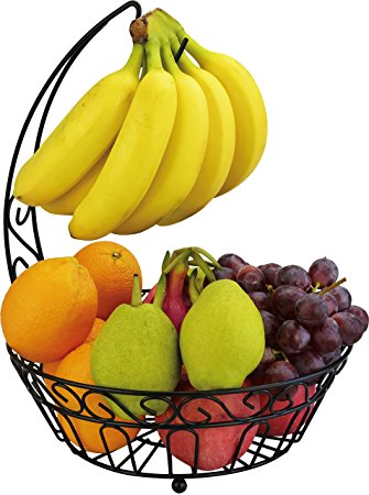 335x450 Surpahs Countertop Fruit Basket Stand W Detachable