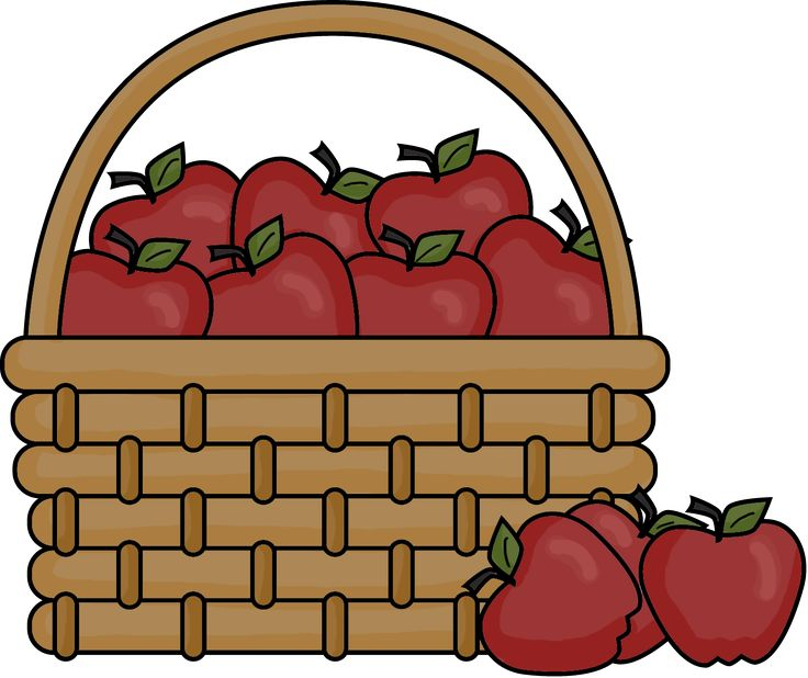 Fruit Baskets Clipart