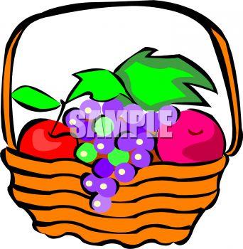 342x350 Fruit Basket