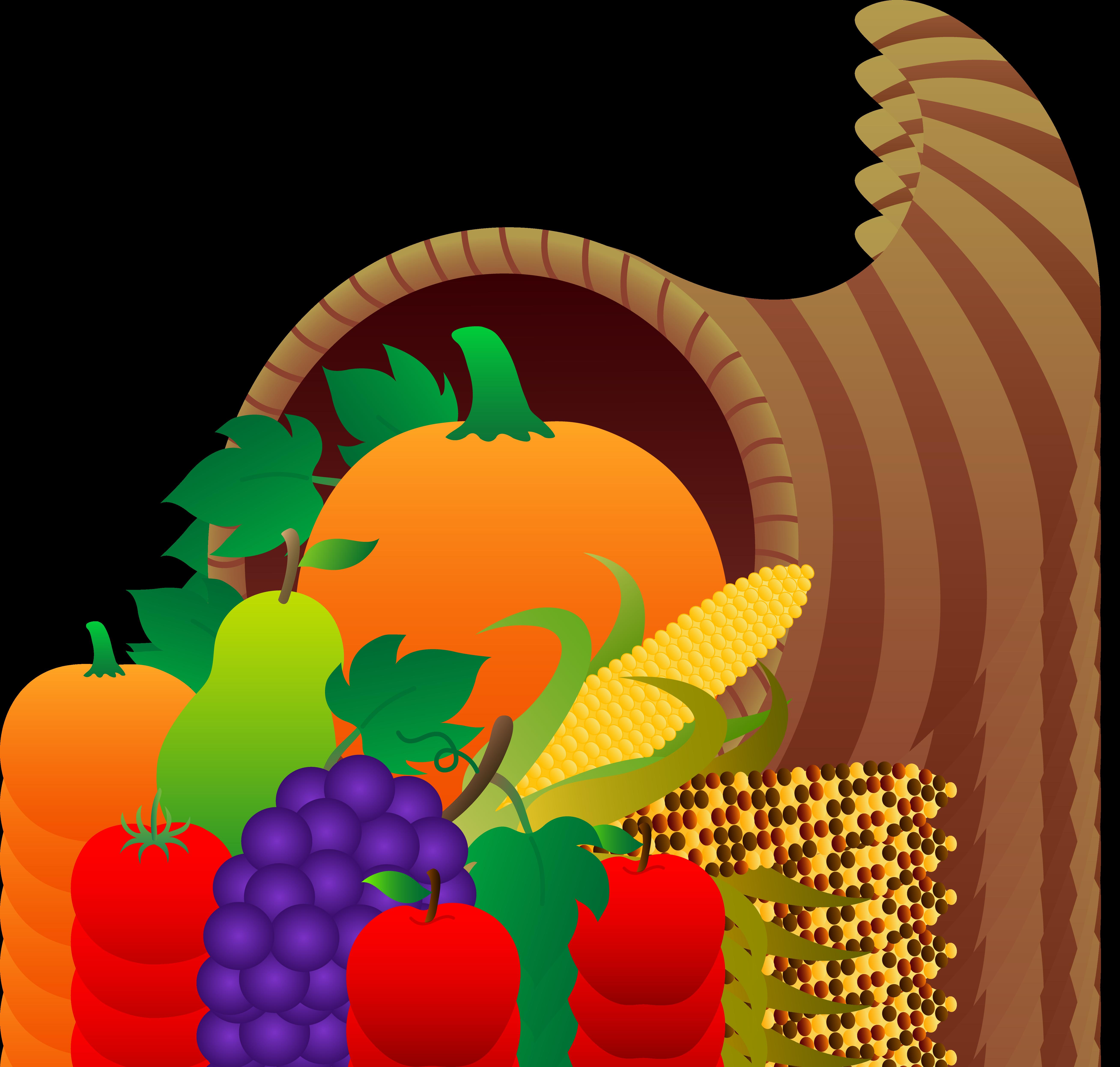 5231x4982 Fruit Basket Clipart