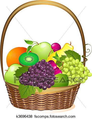 364x470 Fruit Basket Clipart Royalty Free. 3,104 Fruit Basket Clip Art