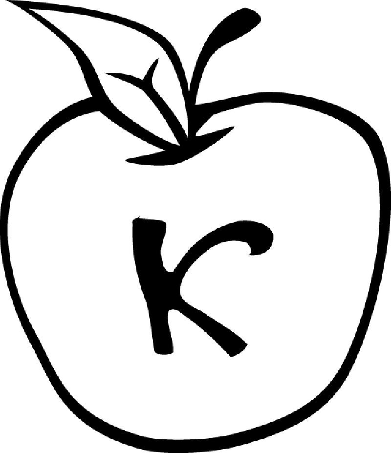 800x927 Apple Fruit Black And White. Apple, Black, Fruit, Silhouette Apple
