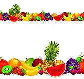 170x159 Clipart Of Orange Fruit Border K9704822