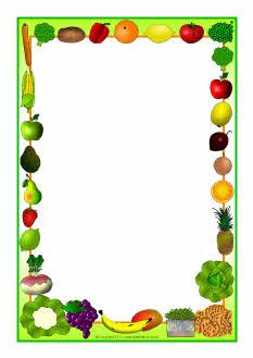 233x329 Fruit Border Clipart 101 Clip Art