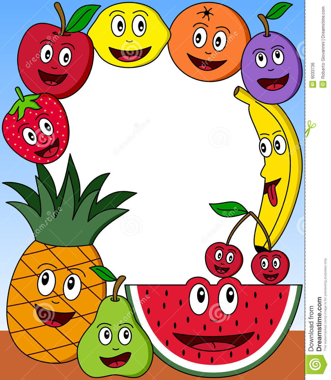 1130x1300 Fruit Clipart Frames